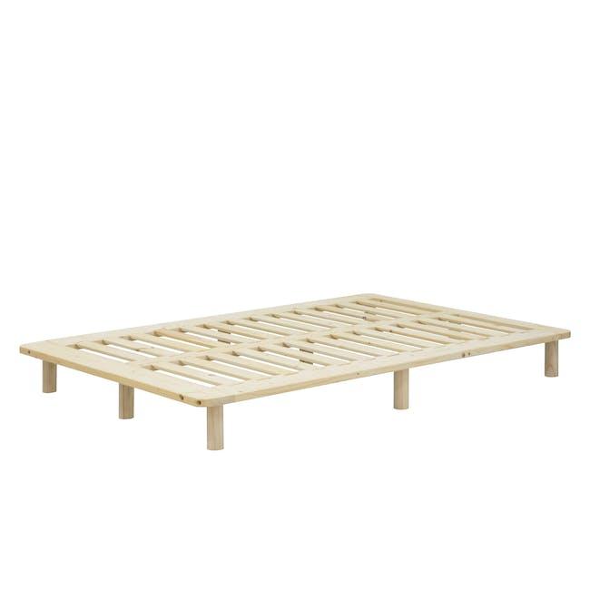 Hiro Super Single Platform Bed - 4