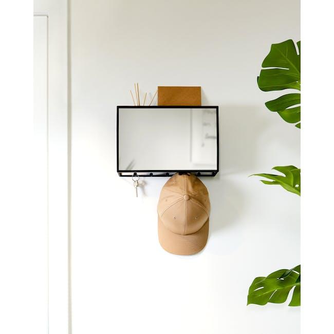 Cubiko Wall Mirror with Storage - 5