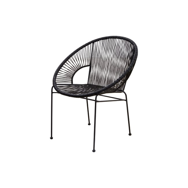 Acapulco Chair - Black - 1