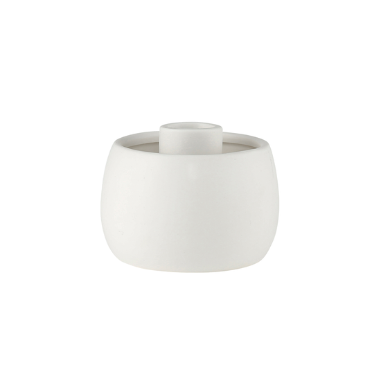 Laholm - Ovo Candle Holder - Eggshell