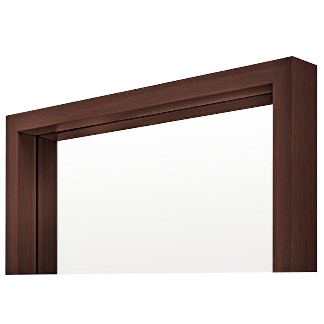 Nelson Full-Length Mirror 40 x 140 cm - Walnut - 1