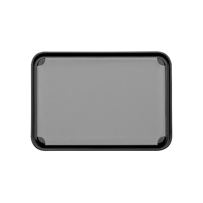 Dreamfarm Fledge Flip Edge Cutting Board - Black - 4