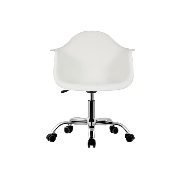DAW Mid Back Office Chair - White - 1