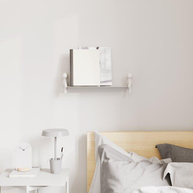 Buddy Wall Shelf - White - 6