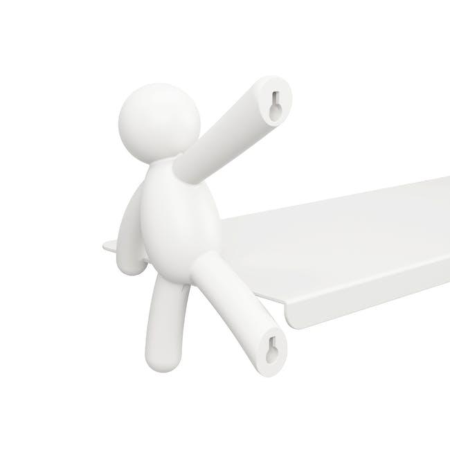 Buddy Wall Shelf - White - 5