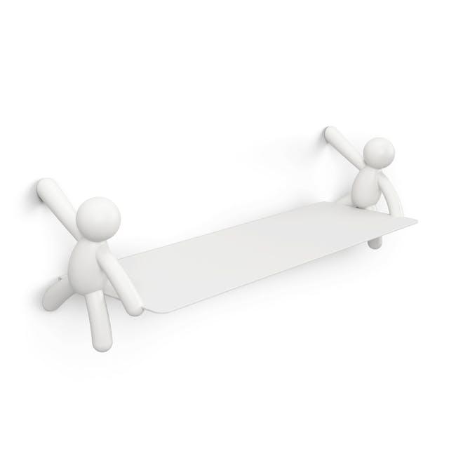 Buddy Wall Shelf - White - 0