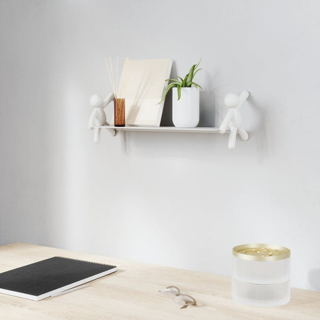 Buddy Wall Shelf - White - 7