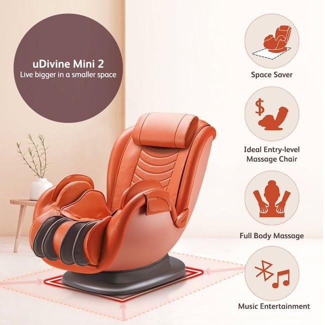 OSIM uDivine Mini 2 Massage Sofa - Orange - 1