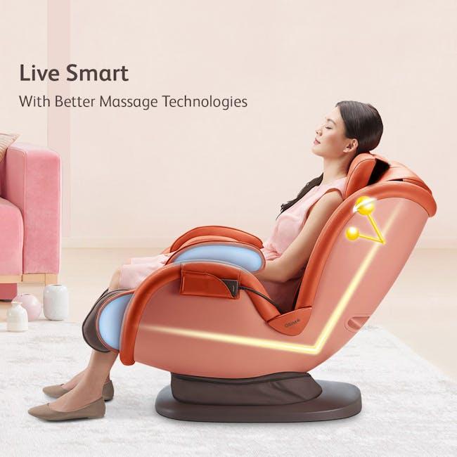 OSIM uDivine Mini 2 Massage Sofa - Orange - 2