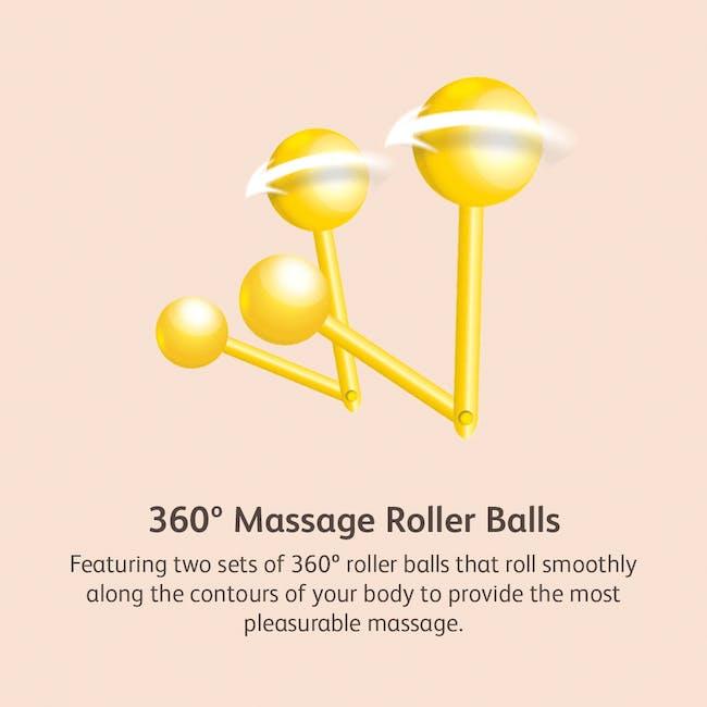 OSIM uDivine Mini 2 Massage Sofa - Orange - 3