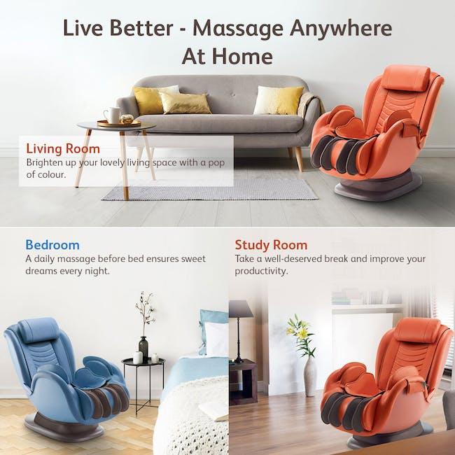 OSIM uDivine Mini 2 Massage Sofa - Orange - 9