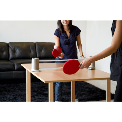 Pongo Table Tennis Set - Red, Charcoal - Image 2