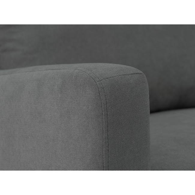 Luke Armchair - Onyx Grey - 6
