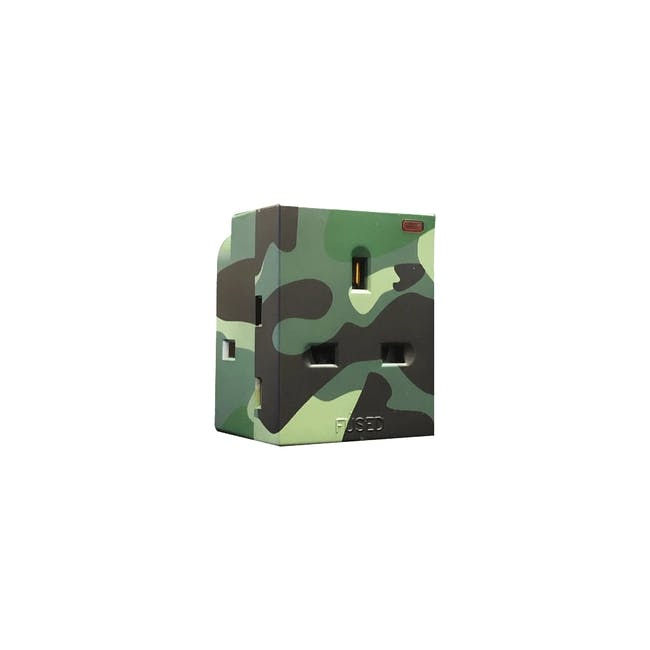 SOUNDTEOH Multiway Camouflage Adaptor - Green - 0
