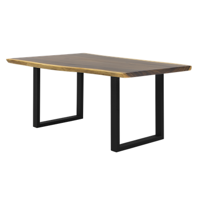 Frank Solid Suar Live Edge Dining Table - 1.8m - Image 1