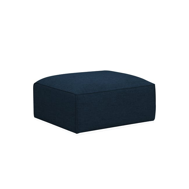Ford L-Shaped 4 Seater Sofa - Oxford Blue - 1