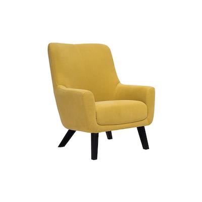 Alicia Lounge Chair - Tumeric - Image 1