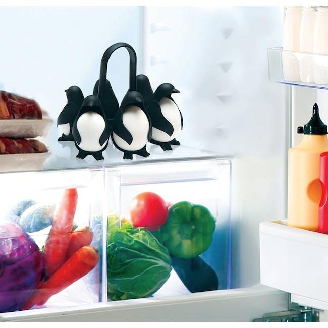 PELEG DESIGN Egguins - Cook, Store & Serve Egg Holder - 4