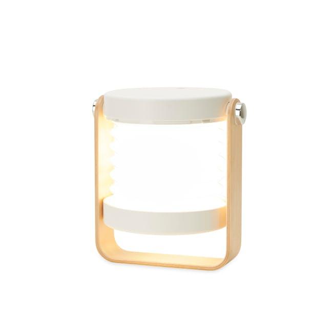 Faye Accordion LED Table Lamp - White - 5