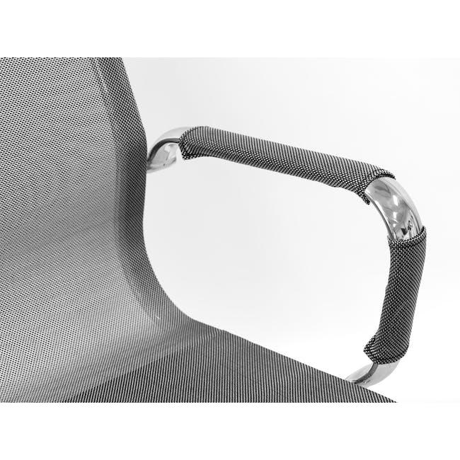 Eames High Back Mesh Office Chair Replica - Grey - 3