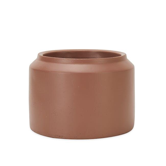 Lucca Modern Pot - Terracotta - Medium - 1