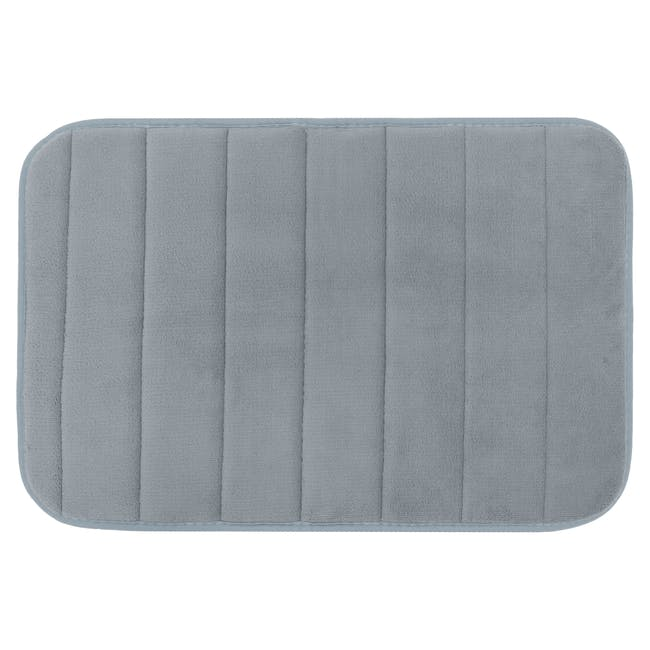 Essentials Memory Foam Floor Mat - Grey - 0