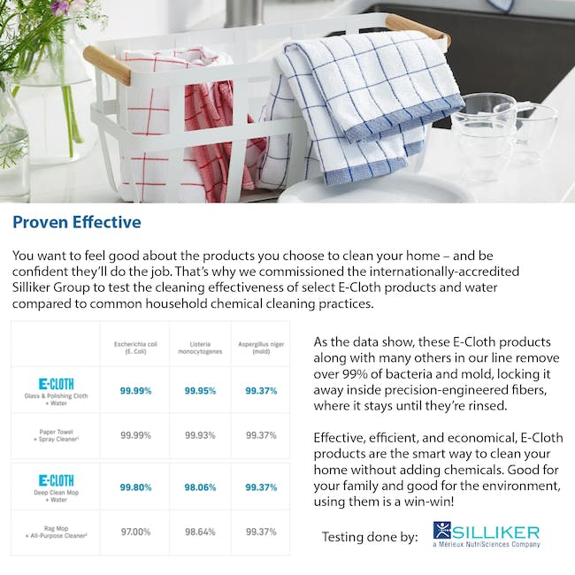 e-cloth General Purpose Eco Cleaning Cloth Pack (Set of 4) - 5
