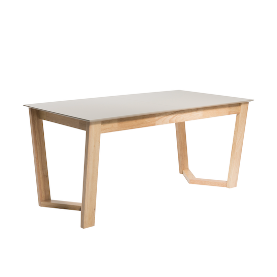 Salle A Manger Gris Taupe: Meera Extendable Dining Table 1.6m
