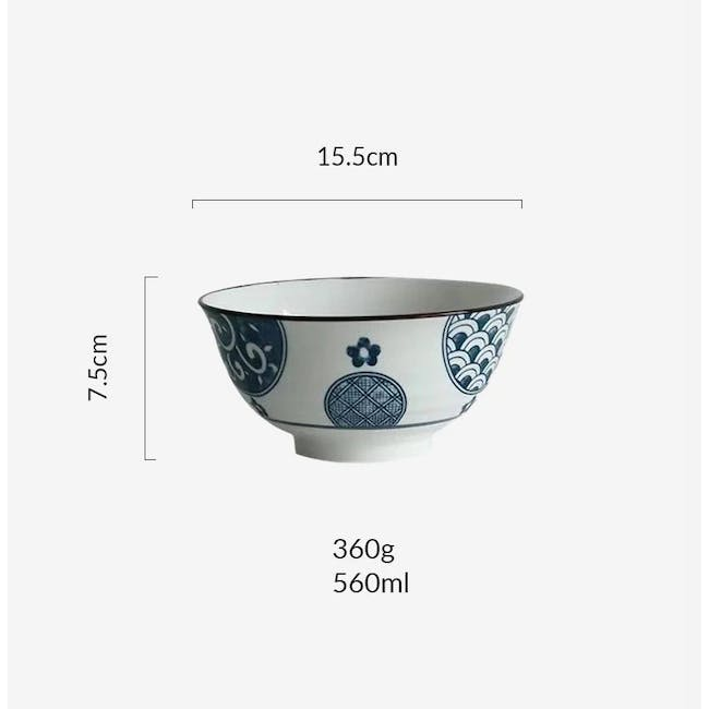 Table Matters Patchwork Bowl (3 Sizes) - 3