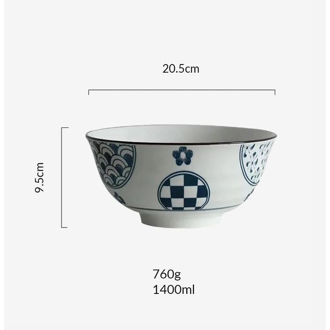 Table Matters Patchwork Bowl (3 Sizes) - 4