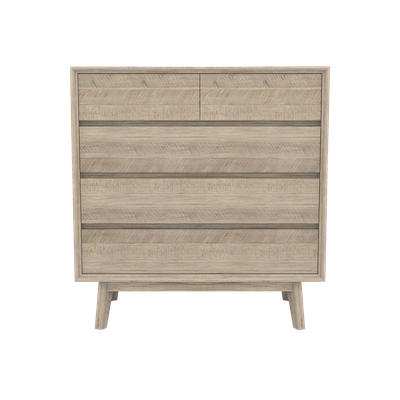 Leland 5 Drawer Chest 1m - Image 2