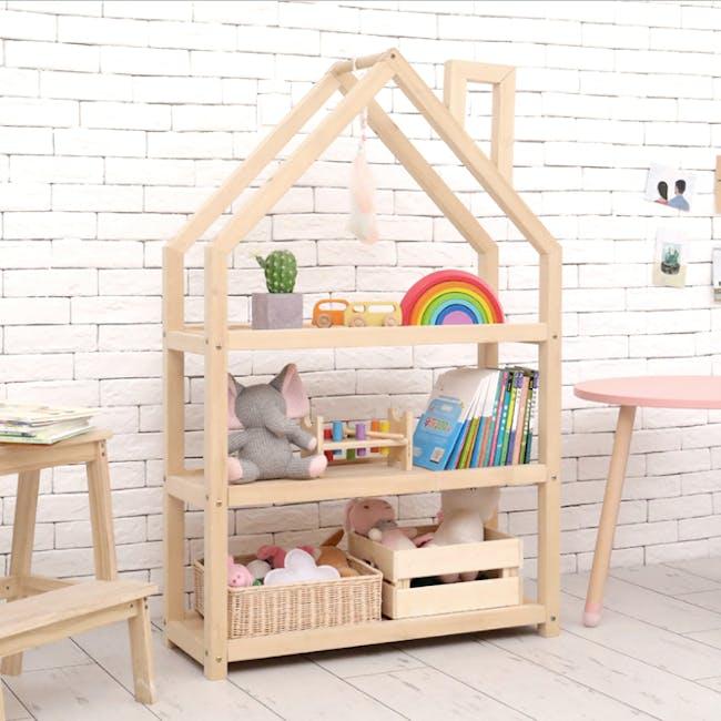 Nizu Kids House Low Shelf - 4