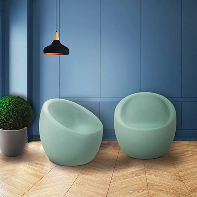 Oca Armchair - Light Green - 1