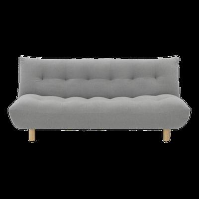 Aaron Sofa Bed - Light Grey - Image 1