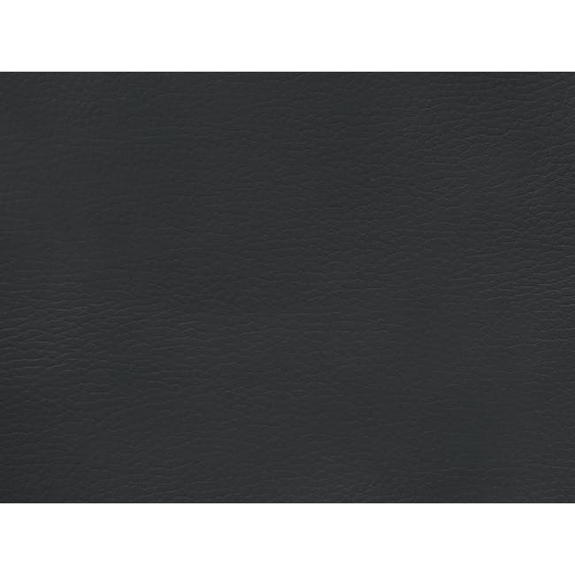 Faux Leather Swatch - Slate Grey - 0