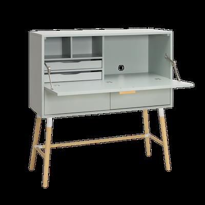 Arod Working Desk - White Grey - Image 2