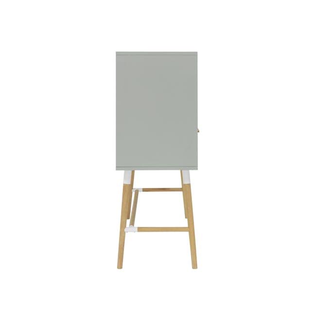 Arod Study Table - White Grey - 5