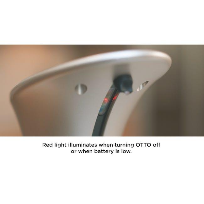 Otto Automatic Soap Dispenser with Caddy - Black - 6