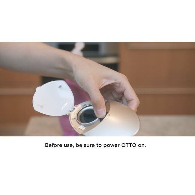 Otto Automatic Soap Dispenser with Caddy - Black - 7
