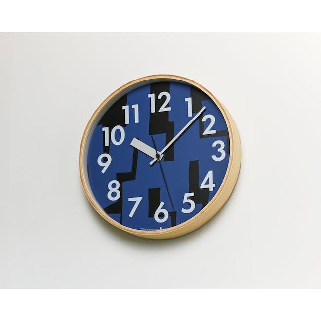 Noyama Clock - Blue - 1