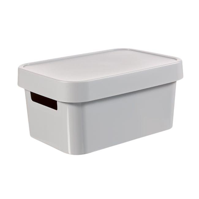 Infinity Box + Lid - Grey - 0