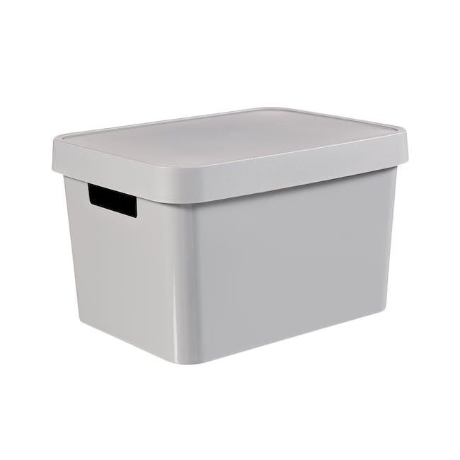 Infinity Box + Lid - Grey - 2