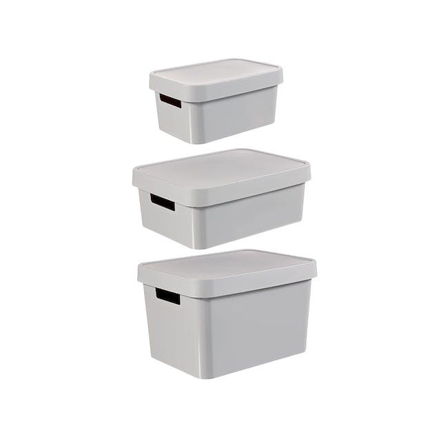 Infinity Box + Lid - Grey - 3