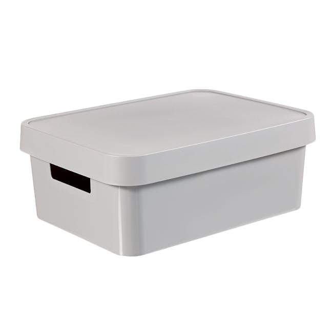 Infinity Box + Lid - Grey - 1