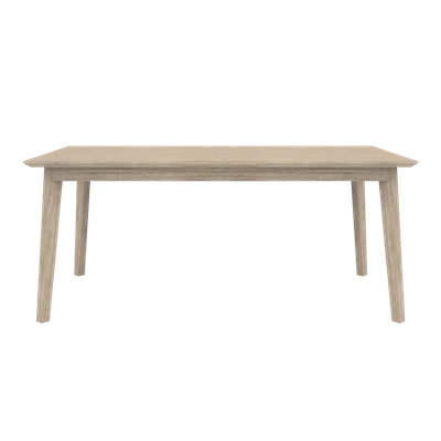 Leland Dining Table 1.6m with Leland Cushioned Bench 1.3m and 2 Leland Dining Chairs - Image 2
