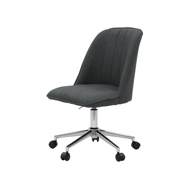 Harper Mid Back Office Chair - Carbon - 1