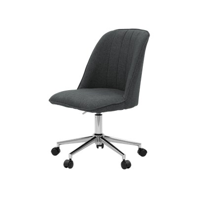 Harper Mid Back Office Chair - Carbon - Image 2