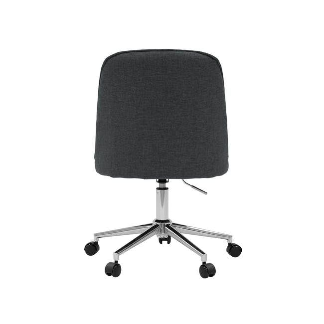 Harper Mid Back Office Chair - Carbon - 4
