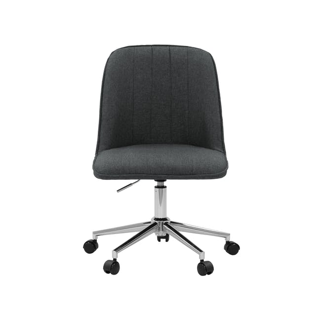 Harper Mid Back Office Chair - Carbon - 0