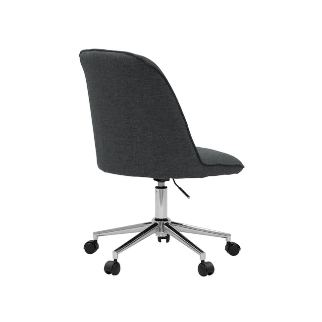 Harper Mid Back Office Chair - Carbon - 3